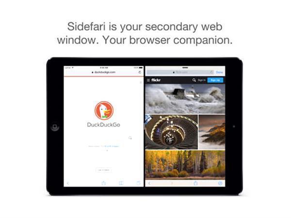 Sidefari ile çift pencere Safari deneyimi
