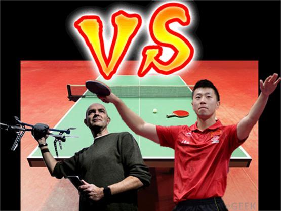 Dronelar, masa tenisinde Ma Long kadar iyi olabilecekler mi?