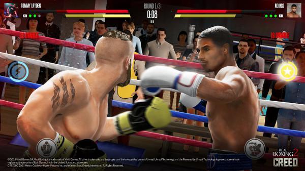 Real Boxing 2 CREED'i denedik: Seri yumruklarla işi bitirin