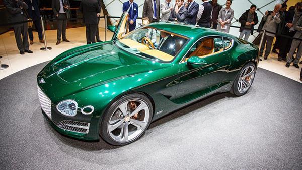 Bentley'den 500 beygirlik elektrikli otomobil