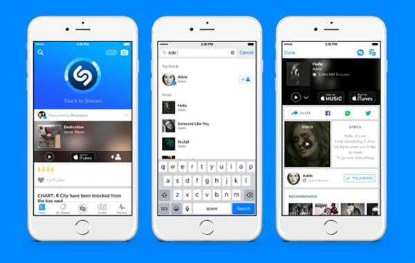 iOS ve Android için Shazam güncellendi
