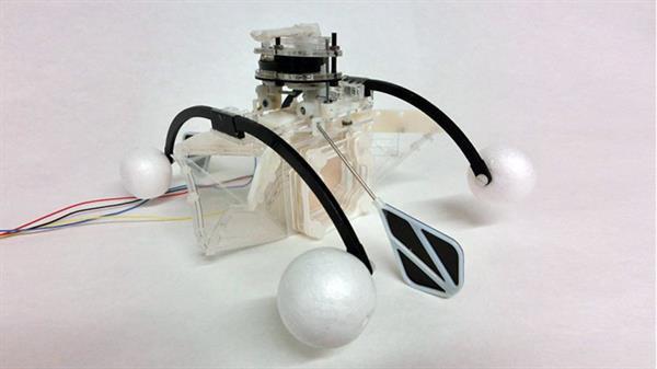 Kirli sudan beslenen ilginç robot