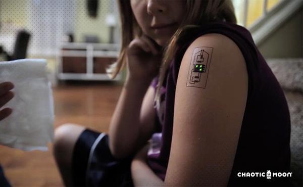 Akıllı özelliklere sahip elektronik dövmeler geliyor