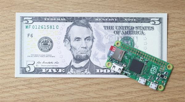 5 Dolarlık bilgisayar: Rasperry Pi Zero