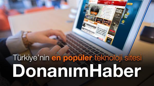 Türkiye'nin en popüler teknoloji sitesi DonanimHaber.com