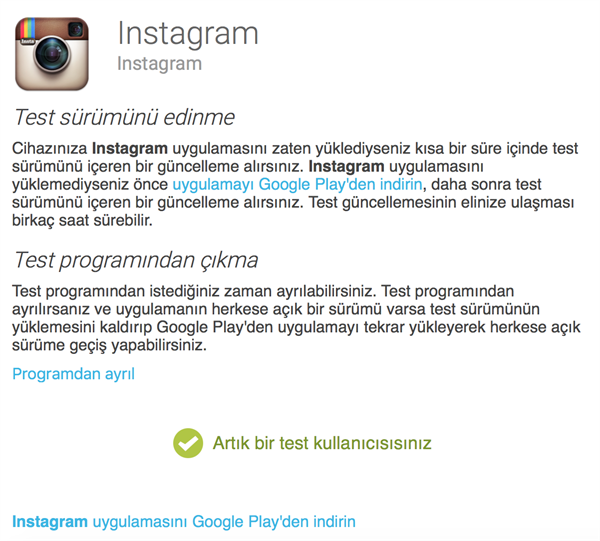 Instagram çoklu hesap desteğini deniyor