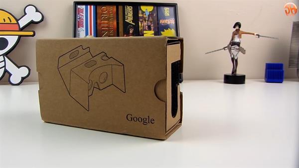 Google Card Board v2 inceleme videosu