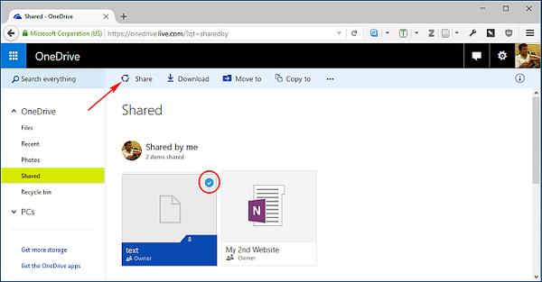 Windows 10'da OneDrive üzerinden dosya paylaşımı nasıl yapılır?