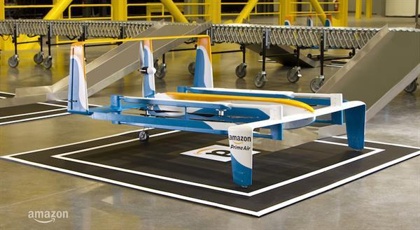 Amazon, teslimatlarda yardımcı olacak yeni Drone'unu tanıttı