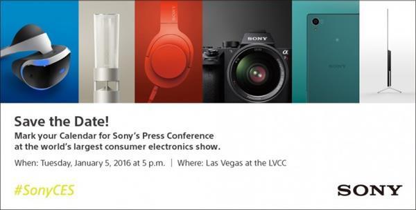 Sony'nin CES 2016 programı açıklandı