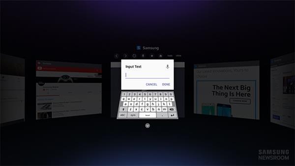 Samsung'dan sanal gerçekliğe özel tarayıcı