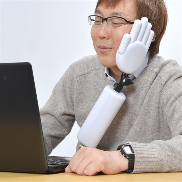 Japonlardan masa başında oturuşunuzu düzene sokacak plastik el