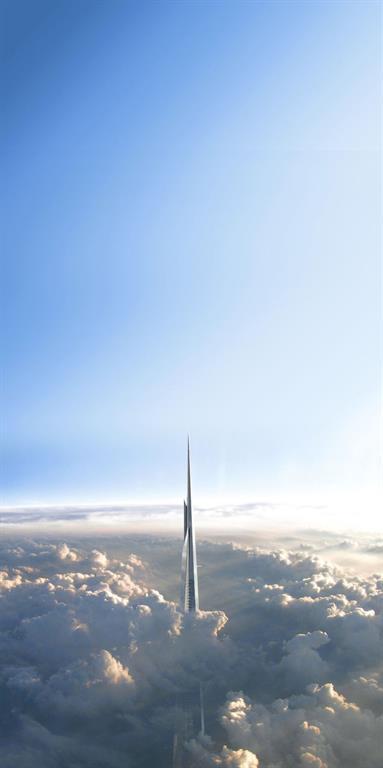 Dünyanın en büyük gökdeleni 1 km yüksekliğe sahip olacak [Video]