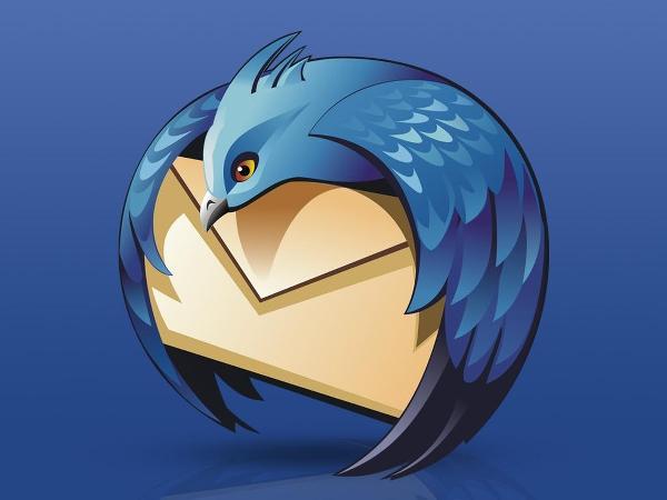 Thunderbird mail istemcisi için ayrılık rüzgarları