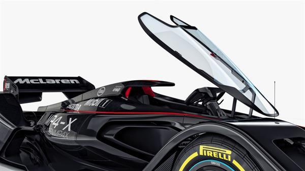 McLaren'dan sıradışı Formula 1 konsepti: MP4-X [Video]