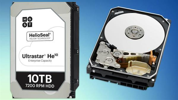 HGST'den 10TB kapasiteli yeni HDD