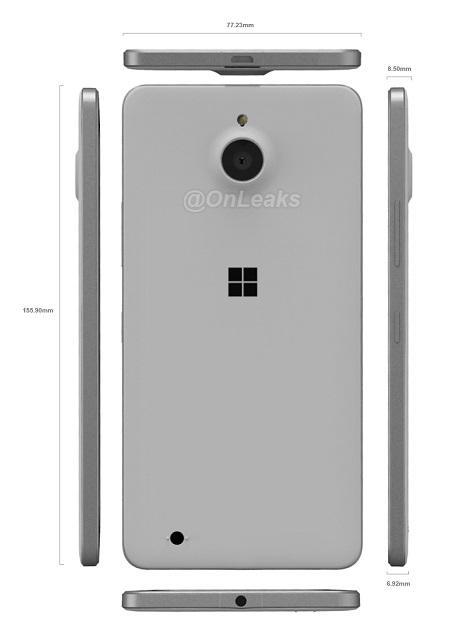 Lumia 850'ye ait render videosu ve görüntüleri sızdırıldı