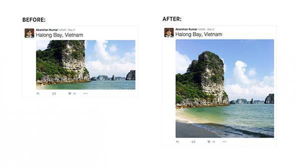 Twitter'ın fotoğraf görüntüleme altyapısı değişti