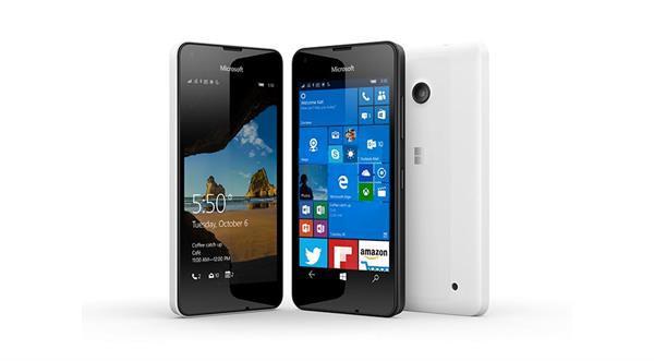 Lumia 550 satışa sunuldu