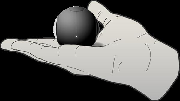 Dünyanın en küçük 360 derece video kamerası: Luna