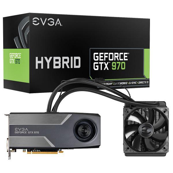 EVGA GeForce GTX 970 HYBRID GAMING duyuruldu
