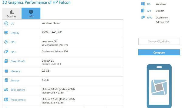 HP'den Windows 10 mobil tarafında Falcon atağı