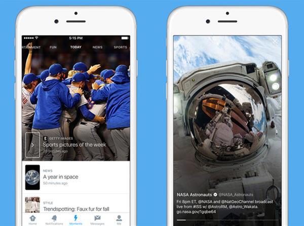 iOS için Twitter'a önemli destek