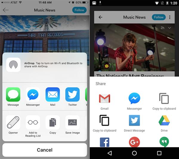 Flipboard ile Messenger artık daha iyi anlaşıyor