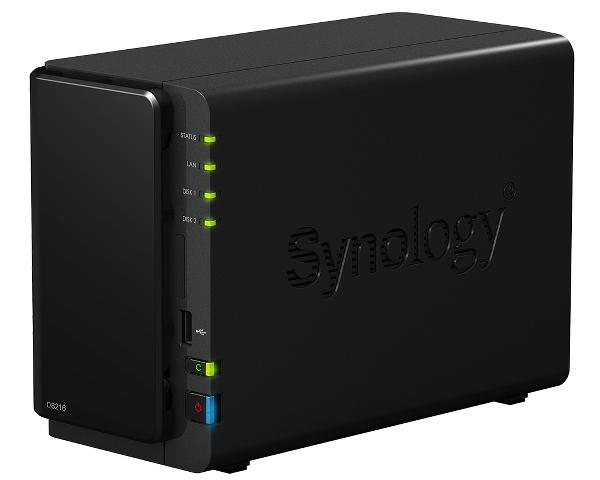 Synology'den performans odaklı DiskStation DS216 NAS cihazı