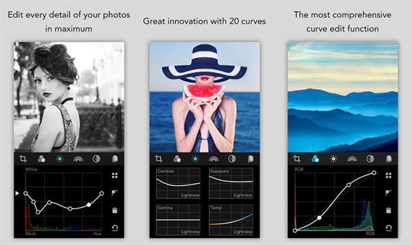 MaxCurve ile iOS tarafında fotoğraf düzenleme seviye atlıyor