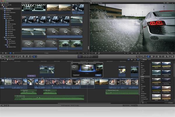 Apple, kendi video düzenleyicisini aldatıyor