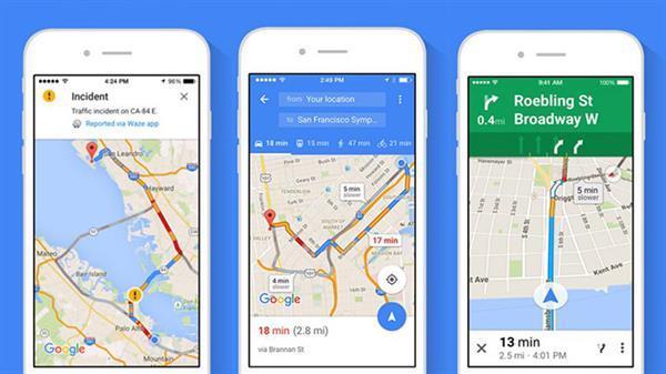 iOS için Google Maps güncellendi