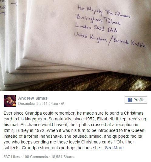 Kraliçe Elizabeth her yıl İzmir İle mektuplaşıyor