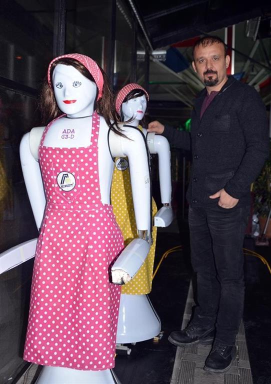 Konya'ya ilk insansı robot fabrikası geliyor