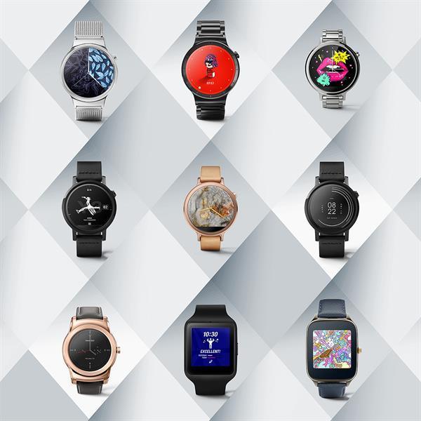 Android Wear platformu için 9 yeni arayüz yayınlandı