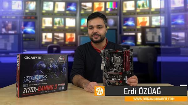 Gigabyte Z170X-Gaming 3 anakart inceleme videosu