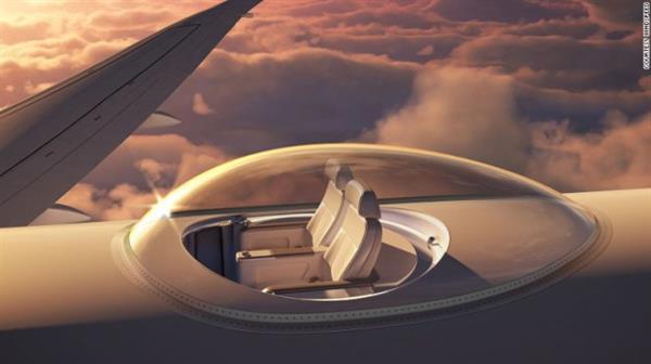 Windspeed'ten manzaralı uçuş konsepti
