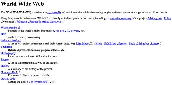 İlk internet sitesi 25 yaşına bastı