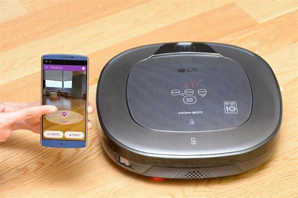 LG'den arttırılmış gerçeklik destekli robot temizleyici