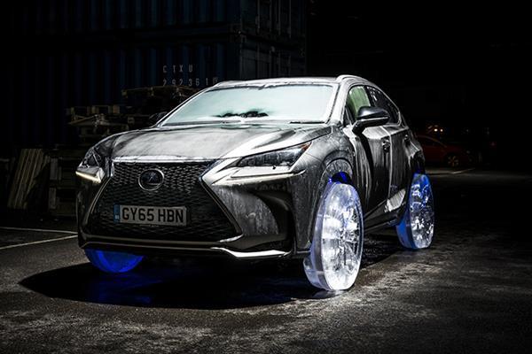 Lexus'dan ilginç bir konsept daha: Buz tekerlek