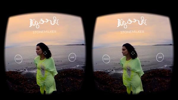 Björk'dan sanal gerçeklik uygulaması