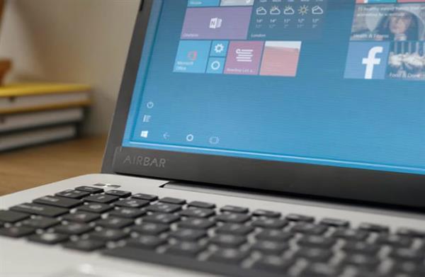 AirBar ile dizüstü bilgisayar ekranınızı dokunmatik yapın