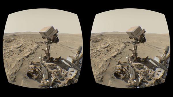"""NASA: """"Sanal Gerçeklik ile Mars'a ayak basmaya hazırlanın"""""""