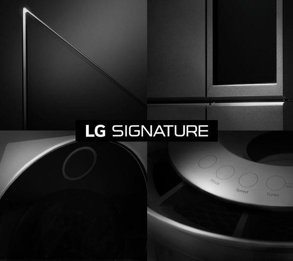 LG'den lüks elektroniğe yönelik yeni seri: LG Signature