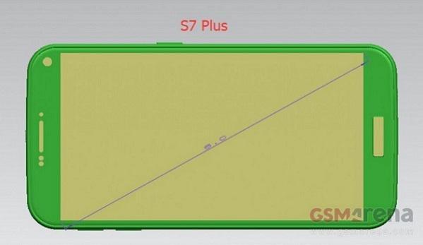Samsung Galaxy S7 üç farklı ekran boyutuyla gelebilir