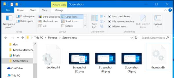 Thumbs.db, desktop.ini ve .DS_Store dosyaları ne anlam ifade ediyor?