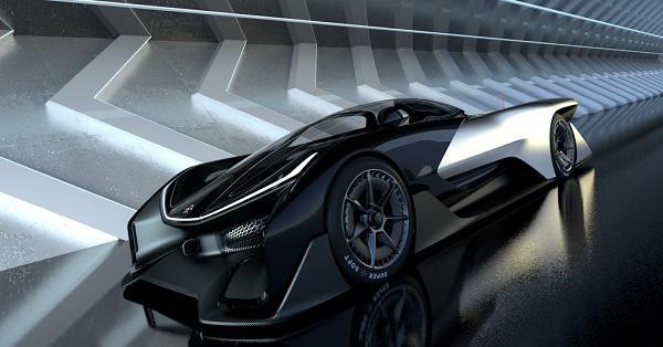 Faraday Future'dan geleceğin süper otomobil konsepti: FFZERO1