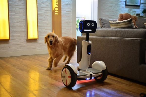 Segway'den sürülebilen kişisel robot