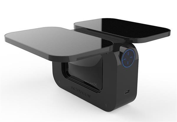 Güneş enerjili aksiyon kamerası