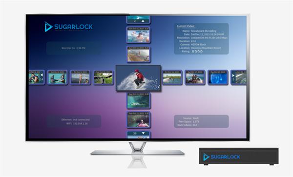 Aksiyon videolarınızı televizyonda düzenleyin